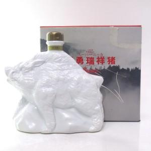 Nikka Super Whisky 60cl / Pig Ceramic Decanter