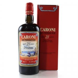 Caroni 1996 100 Proof 21 Year Old Rum