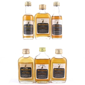Mortlach Gordon and MacPhail Miniature Selection 6 x 5cl