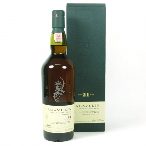 Lagavulin 21 Year Old 2007 Release front