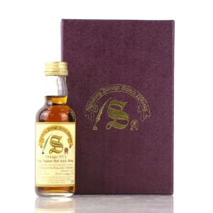 Macallan 1973 Signatory Vintage 20 Year Old 5cl Miniature