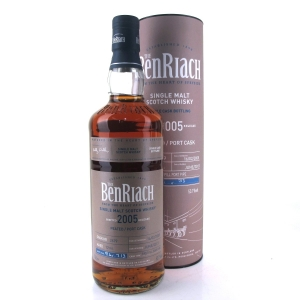 Benriach 2005 Single Cask 12 Year Old Peated / Port Cask