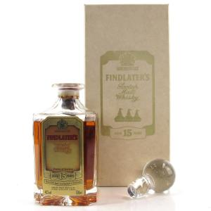 Findlater's 15 Year Old Crystal Decanter 50cl