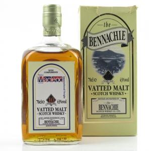Bennachie 10 Year Old Blended Malt W and J Macleod Bottling