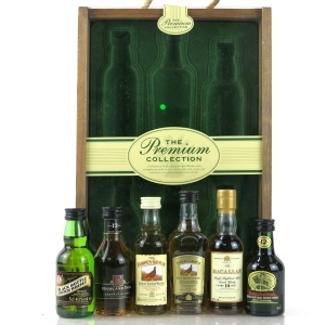 Matthew Gloag Premium Collection Miniature Selection 6 x 5cl / Including Macallan and Highland Park