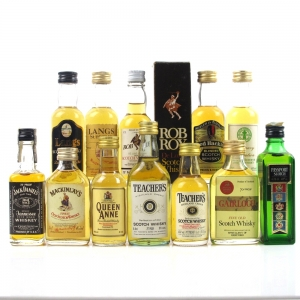 Miscellaneous Whisky Miniature Selection / 12 x 5cl