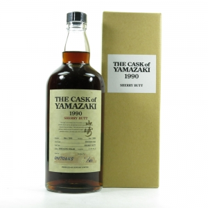 Yamazaki 1990 Single Cask #ON70645 / Bottle No.1