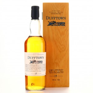 Dufftown 15 Year Old Flora and Fauna / Wooden Box