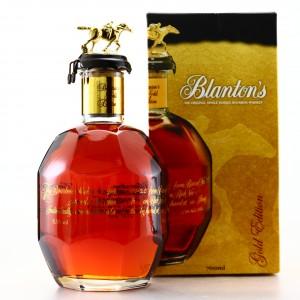 Blanton's Single Barrel Gold Edition dumped 2020