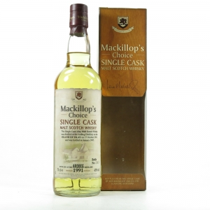 Ardbeg 1991 Mackillop's Choice 13 Year Old Front