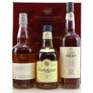Classic Malts Collection 3 x 20cl / Glenkinchie, Dalwhinnie & Oban