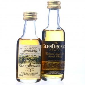 Glendronach Miniatures 2 x 5cl