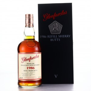 Glenfarclas 1986 Refill Sherry Butts Collector Series V