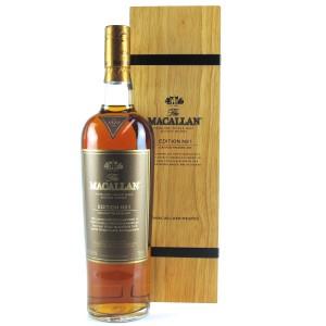 Macallan Edition No 1 / Wooden Box
