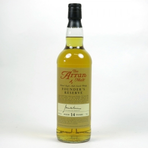 Arran 14 Year Old Founder's Reserve Front