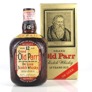 Grand Old Parr 12 Year Old 1960s