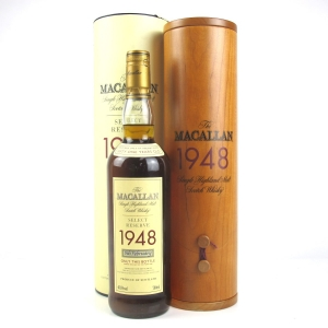 Macallan 1948 Select Reserve 51 Year Old