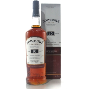 Bowmore 10 Year Old Dark and Intense 1 Litre