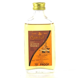 Clynelish 12 Year Old Ainslie and Heilbron 70 Proof 1980s Miniature 5cl