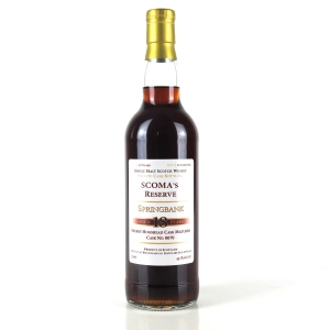 Springbank 1995 Scoma's Reserve 18 Year Old
