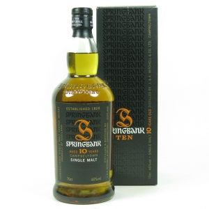 Springbank 10 Year Old (Signed) front