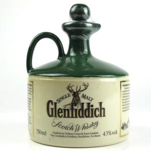 Glenfiddich Charles Edward Stuart Stoneware Decanter