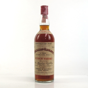 Macallan 1939 Gordon and MacPhail 33 Year Old / Pinerolo Import