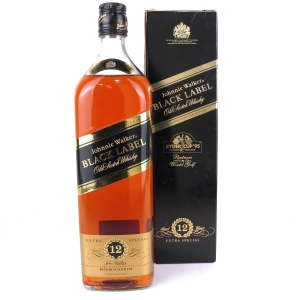 Johnnie Walker Black Label 12 Year Old Ryder Cup 1995 1 Litre