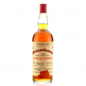 Macallan 1938 Gordon and MacPhail 31 Year Old / Donini Import
