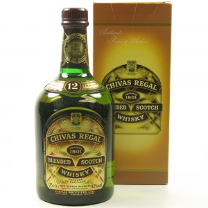 Chivas 12 Year old Jubilee Limited Edition