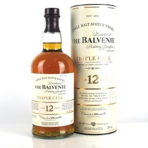 Balvenie 12 Year Old Triple Cask 1 Litre