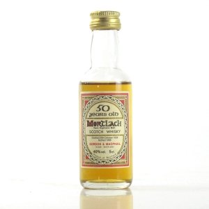 Mortlach 1938 Gordon and MacPhail 50 Year Old Miniature 5cl