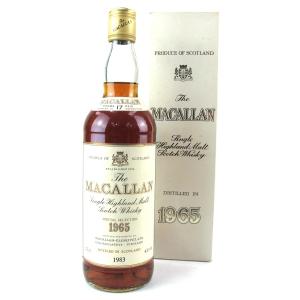 Macallan 1965 17 Year Old