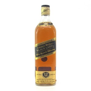 Johnnie Walker Black Label 12 Year Old 75cl / South African Import
