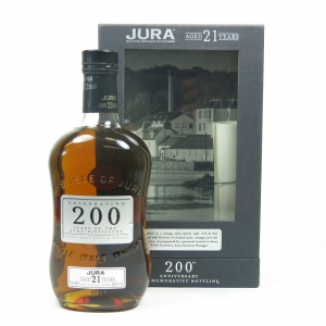 Isle of Jura 21 Year Old 200th Anniversary Front