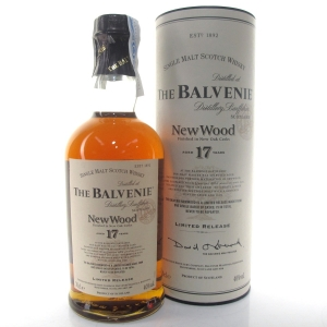 Balvenie 17 Year Old New Wood