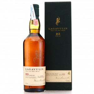 Lagavulin 25 Year Old Cask Strength 2002 Release