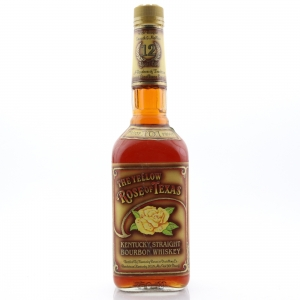 Yellow Rose of Texas 12 Year Old 101 Proof Kentucky Straight Bourbon 1990s