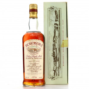 Bowmore 1972 Sherry Casks 21 Year Old
