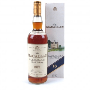 Macallan 18 Year Old 1967