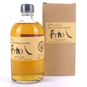 Eigashima Akashi White Oak 5 Year Old Single Sherry Cask #5117