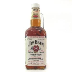 Jim Beam Kentucky Straight Bourbon 1.75 Litre 1980s