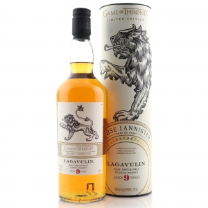 Lagavulin 9 Year Old 75cl / Game of Thrones US Import