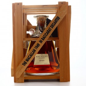 Macallan 1949 Baccarat Decanter 50 Year Old