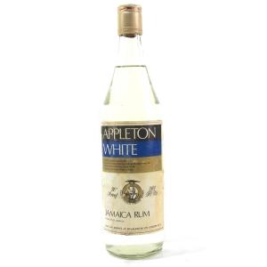 Appleton White Jamaica Rum 1970s
