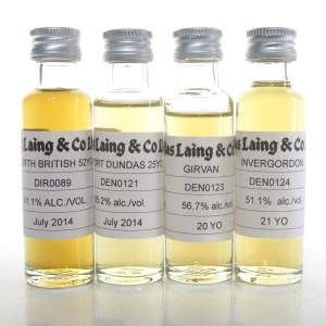 Douglas Laing Grain Whisky Selection 4 x 2cl Samples / Including North British 52 Y/O