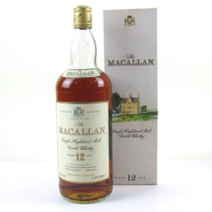 Macallan 12 Year Old Early 1980s 1.13 Litre