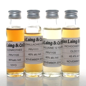 Douglas Laing Speyside Selection 4 x 2cl Samples