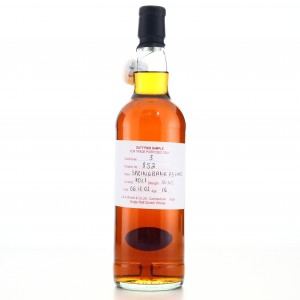 Springbank 2002 Duty Paid Sample 16 Year Old / Fresh Sherry Hogshead