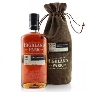 Highland Park 2001 Single Cask 15 Year Old #1674 / Vintersolstandet